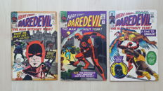 Vintage Marvel Comics - Daredevil Vol 1 - Issues #9, #10 And #11 - X3 SC - (1965)