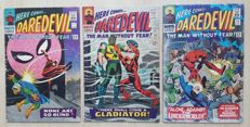 Vintage Marvel Comics - Daredevil Vol 1 - Issues #17, #18 And #19 - X3 SC - (1966)