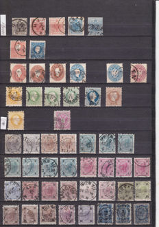 Austria – Collection starting from 1850 number 1