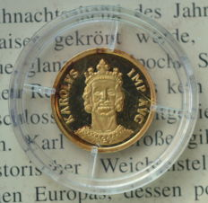 Germany - Ecu 1997 'Charlemagne' - 1/20 oz gold