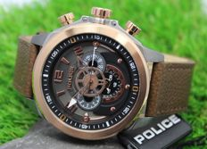 Police Mens - Rose Gold Plated - Designer Watch - New & Perfect Condition