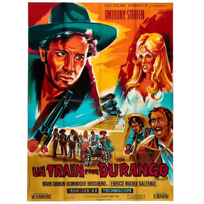 C. Belinsky - 5 x mythical western film posters - 1960s
