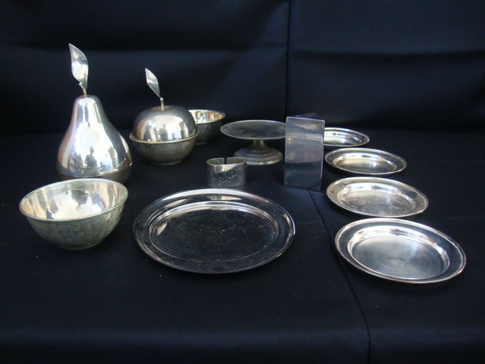Silver Plated Items Lot