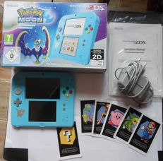 2DS Pokemon Moon with manual complete box whit charger