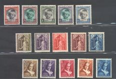 Luxembourg - Selection of various series of the period