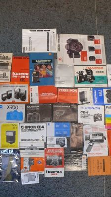 Collection with various magazines