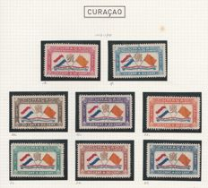 Curaçao 1941/1946 - Selection Airmail stamps - NVPH LP18 to LP40, LP45 to LP68