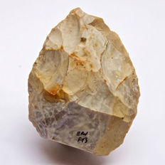Middle Palaeolithic biface from France - 93 x 76 mm