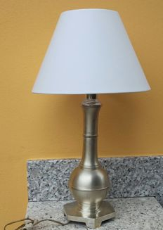 Vintage 800 Silver table lamp - Florence, 1950