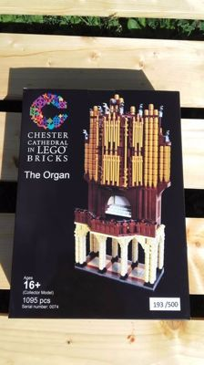 Lego Certified Professional Chester Cathedral The Organ -  Limited edition n°193/500