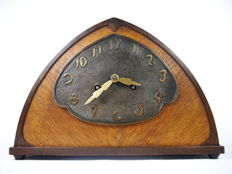 Amsterdam School mantel clock