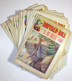 Buffalo Bill - 32x vintage illustrated booklets (not comic albums) (1931-33)