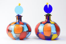 Angelo Ballarin (F&M Ballarin) - pair of pezzato bottles