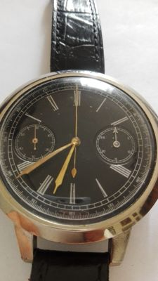 John Boyd, 300 Argyle Street, Glasgow / Mariage chronograph watch, minutes regulator with alarm - Men's - 1850-1900