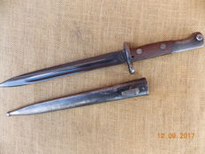 Yugoslavian Bayonet Top Condition