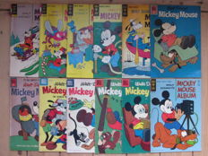 Walt Disney's Mickey Mouse - 12 issues - sc - 1st print (1956/1972)