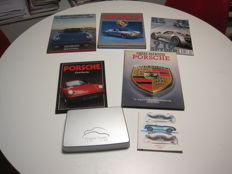 Film on the occasion of the 50 year existence of Porsche 1948-1998 + 4 Porsche books + museum booklet