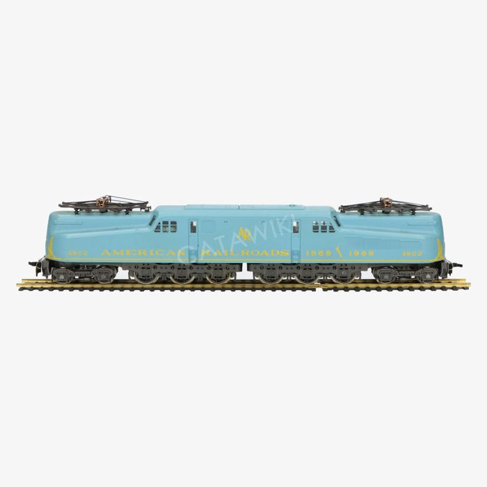 AHM/Rivarossi H0 - 5160-F - Electric locomotive Series GG1 of the American Railroads
