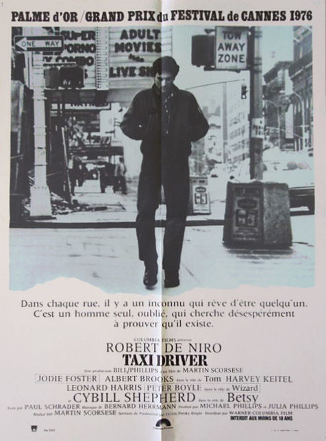 Anonymous - Taxi Driver (Robert De Niro) -  1976