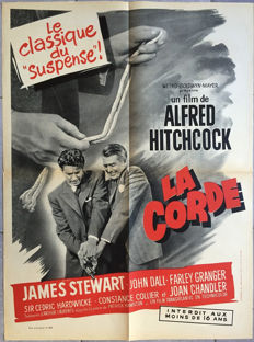 Anonymous - La Corde / The Rope (Alfred Hitchcock, James Stewart) - circa 1950