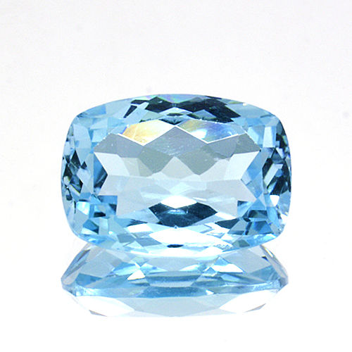 Sky blue topaz - 7.04 ct - No Reserve Price