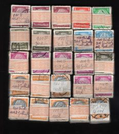 German Empire/Reich 1933 - Hindenburg batch bundle of 100s