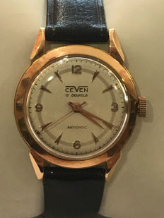 CEVEN gold watch for men