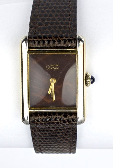 5a61e6611d8 Cartier Tank Must De Cartier – women s - Catawiki