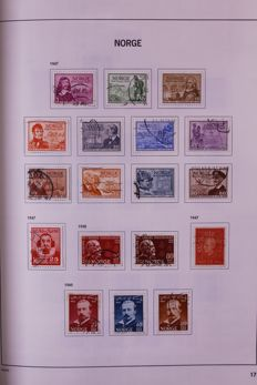 Danmark and Norway 1856/2000 - Two collections