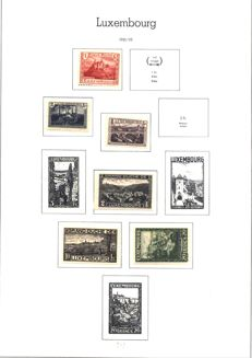 Luxembourg - Collection of stamps from 1921 to 2000