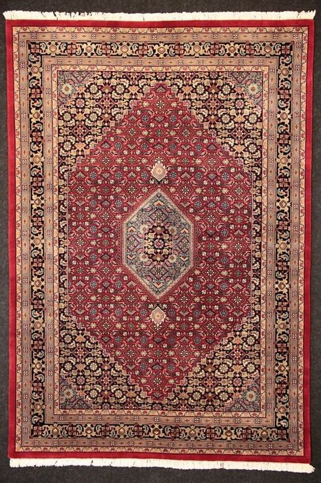 Very beautiful Bidjar rug in soft colours, 244 x 170 cm