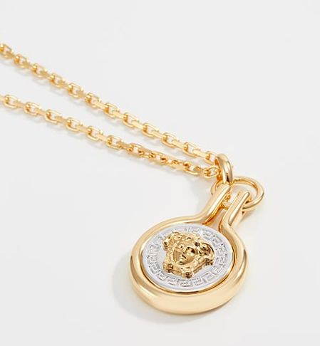 Versace necklace gold colouredsilver coloured catawiki versace necklace gold colouredsilver coloured mozeypictures Image collections