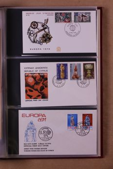 Europa Stamps 1956/1993 - Collection of FDCs and covers