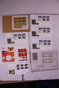Netherlands 1958/2005 – Lot of approx 5000 FDCs and covers in 10 albums