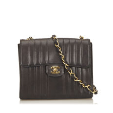 Chanel - Straight Stitch Lambskin Leather Flap Bag