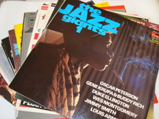 Beautiful selection of 15 Jazz Compilation LP's (incl. 6 double albums). Great performances by the greatest jazz-legends: Miles David / Dave Brubeck / Toots Thielemans / Stan Getz / Duke Ellington / Buddy Tate / Dizzy Gillespie / Gene Krupa... and many mo