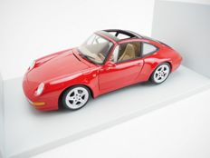 UT Models - Scale 1/18 - Porsche 911 Carrera Targa (993) - Red