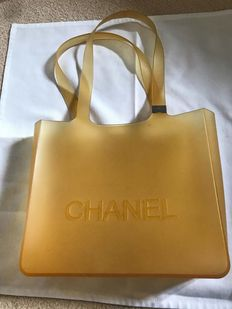 Chanel - Rubber Tote Bag