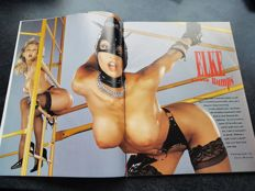 "Kinky; Lot with 6 ""fetish & fantasies"" photo books and magazines - 1972/2001"