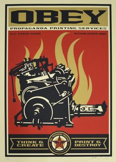 Shepard Fairey (OBEY) - Print and Destroy (Retro Set)