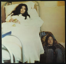 John Lennon - Yoko Ono ‎– Unfinished Music No. 2: Life With The Lions (UK, 1969) and Heartplay: Unfinished Dialogue With Original Sheet