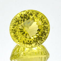 Lemon quartz - 21.35 ct