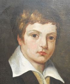 Dutch School (19th/20th century) - portrait of a boy