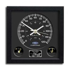 Ford  Cortina Mark IV 2 Litre speedometer Wall Clock