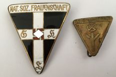 Third Reich Member Badge: Nationalist Socialist Women's association - NS Frauenschaft