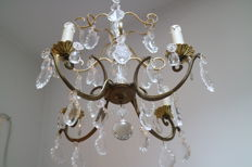 Chandelier, Louis XV style, France, mid 20th century