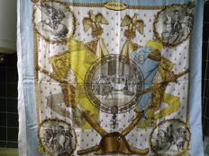 Hermes Silk Scarf Napoleon by Philippe Ledoux