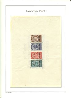 German Empire/Reich -1922-1945 - collection with emergency aid block, Michel block 2