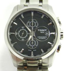 Tissot Couturier Chronograph Automatic T035627 A – Mens wrist watch