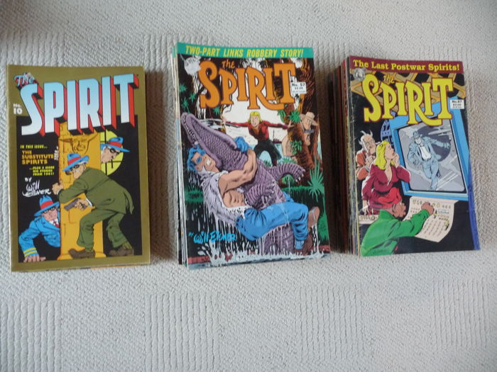 Kitchen Sink Comics / Will Eisner - The Spirit - X84 SC Amerikaanse uitgaves - 84x sc - 1e druk - (1983 / 1992)
